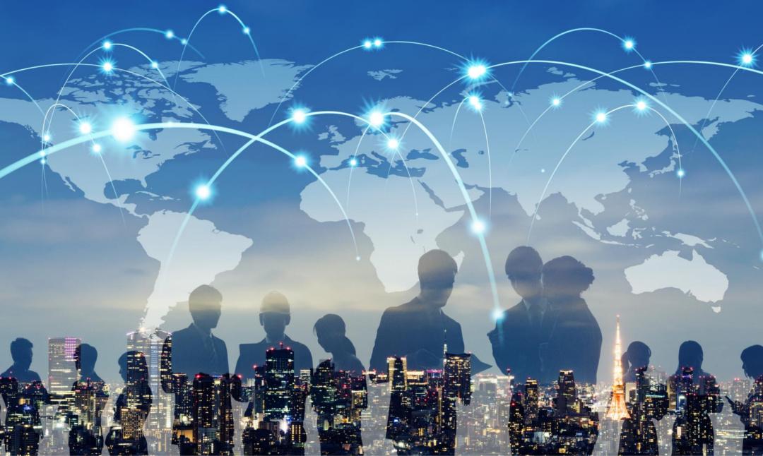 Dieses Bild zeigt die globale Vernetzung und Komplexität, die sich auch als Anforderungen an Qualität in der VUKA-Welt ausdrückt.